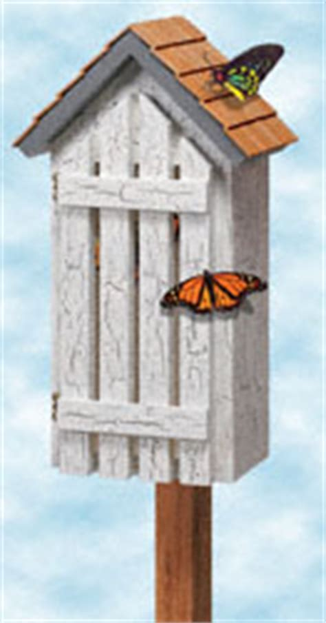 pattern for butterfly house bird critter houses feeders butterfly haven woodcraft