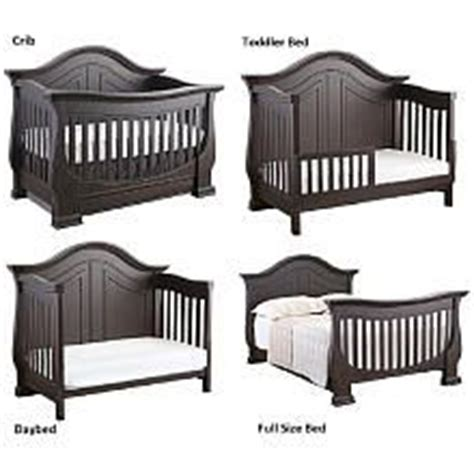 chic baby cribs eco chic baby dorchester 4 in 1 convertible crib slate