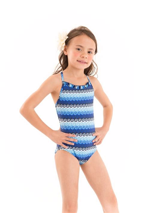 7 Swimsuits For 7 Types by Spirals Blue Swirly Blue Swimsuit For Up To 10