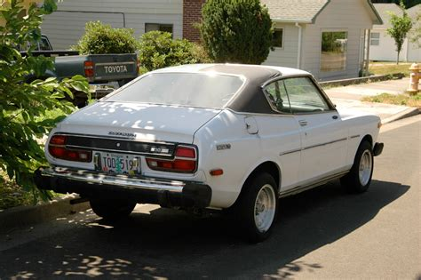 old nissan coupe old parked cars 1975 datsun 710 hardtop coupe