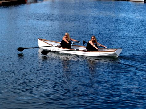 sculling boat tango 17 174 double slide seat sculling whitehall rowboat