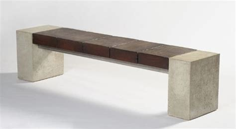 concrete bench seats concrete bench with timber seat concrete bench pinterest