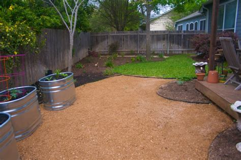 Pea Gravel Backyard by Backyard Patios Here S A Pea Gravel Backyard Patio