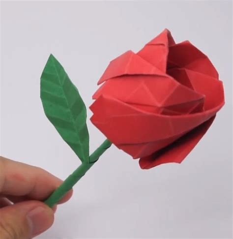 cool origami flower 10 easy last minute origami projects for s day