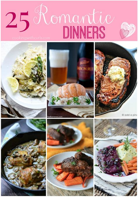 valentines home cooked meal ideas 25 dinners cooking with curls