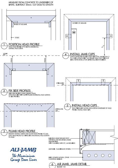 Garage Door Framing Detail Framing Details For Garage Doors Images