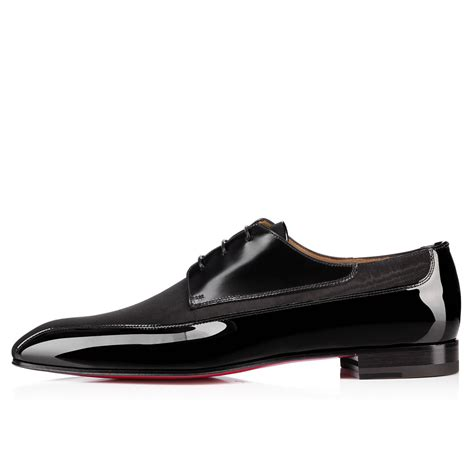 christian louboutin mens sneakers christian louboutin orleaness flat black satin shoes