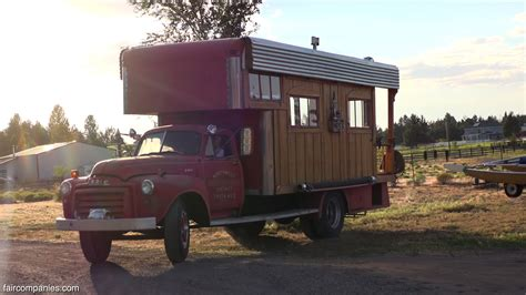 5000 tiny house pro snowboarder turns 5 000 truck into his