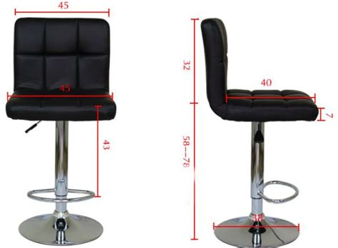 bar stool office chair bar chair office chair bar stool leather adjustable black