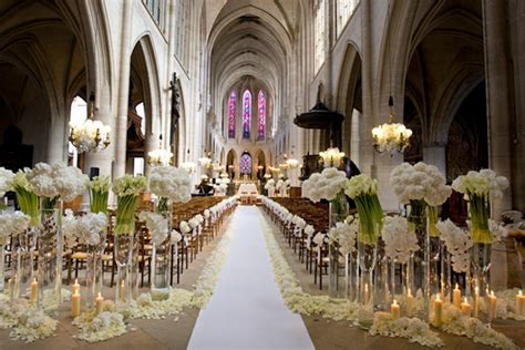 church wedding decorations photos wedding and bridal