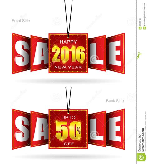new year sale vector happy new year sale stock vector image 62899105