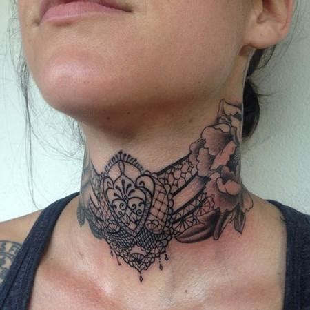 neck stone flower tattoo stone merkaba tattoos by mallory swinchock in santa
