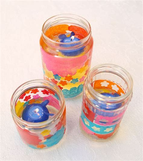 Decoupage Candle Jars - 17 best images about holidays on