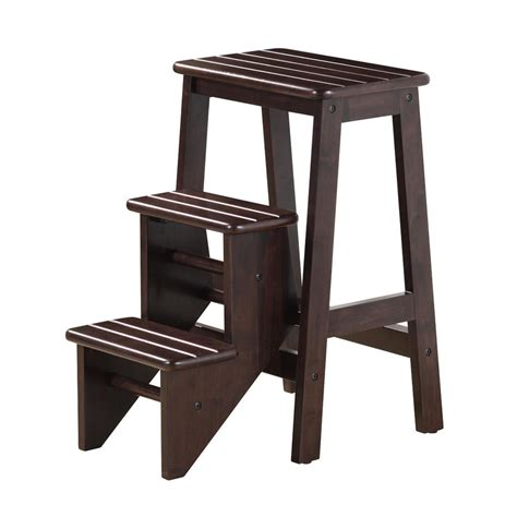 Wooden Step Stool by Shop Boraam Industries 3 Step 225 Lb Load Capacity