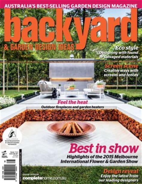 backyard garden magazine backyard garden design ideas magazine subscription on