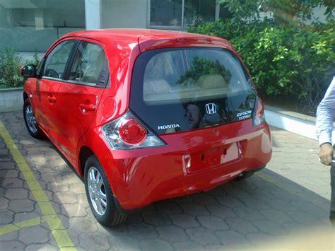 honda brio on road price in chennai scoop honda brio automatic spotted in chennai launch