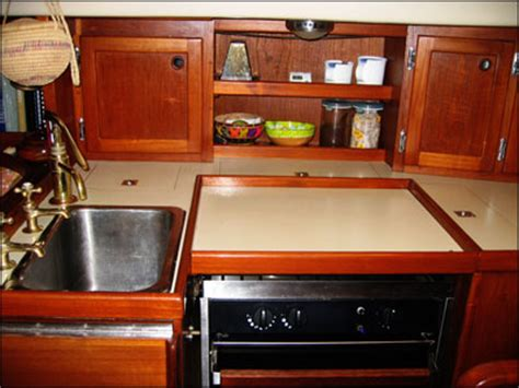 boat galley kitchen design boat ihsan buy small sailboat galley design
