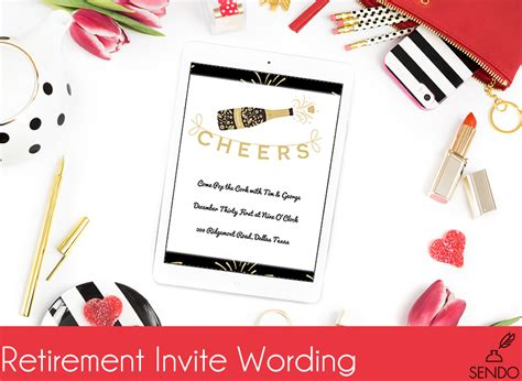 sle invitation wording for retirement party images