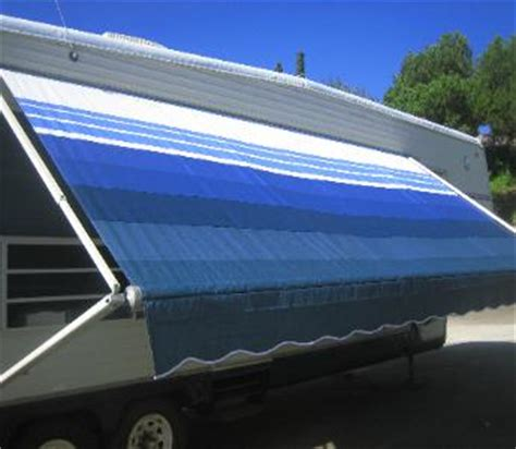 rv replacement awning fabric how to replace fabric on a rv awning ehow autos weblog