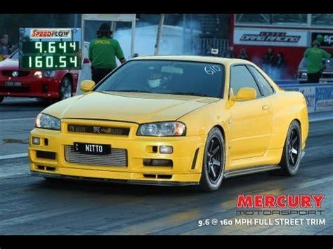 Mba Mph Australia by Nitto Rh9 9 Sec R34 Gtr 160 Mph Drags Mercury Motorsport