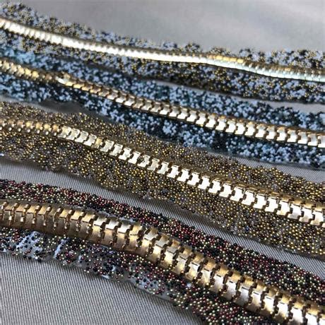 bead and trim fusible bead and chain trim