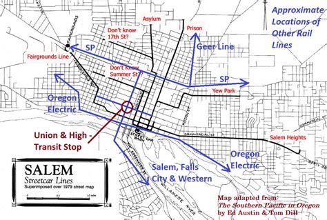map of salem oregon salem breakfast on bikes august 2010