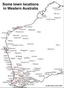 map western australia australia map wa