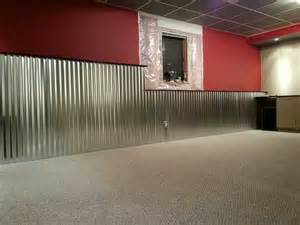 corrugated tin wainscoting quot sew quot amazing
