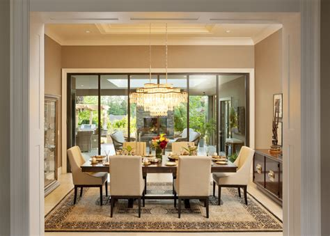 dream dining room surrey panorama sommeiler s dream transitional dining