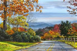 The beauty of the north carolina mountains and blue ridge parkway