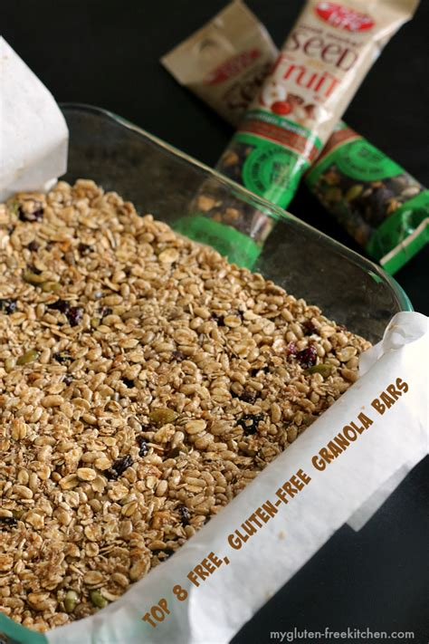 top granola bars gluten free top 8 allergen free granola bars