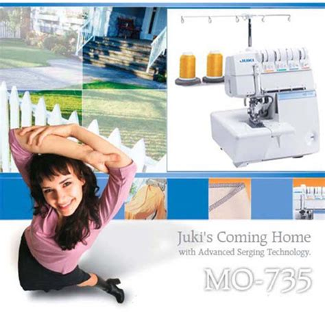 Mesin Jahit Obras Overdeck Juki Mo 735 Portable Multifungsi aneka mesin jahit juki mo 735