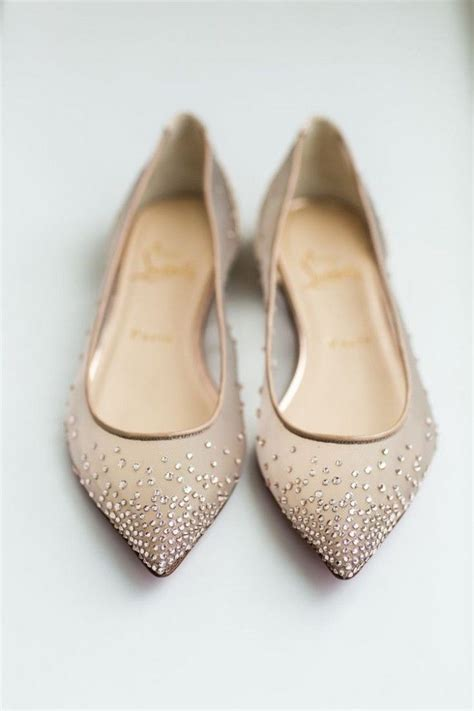 Gold Flat Bridal Shoes by Weddings Shoes Ideas Wedding Shoes