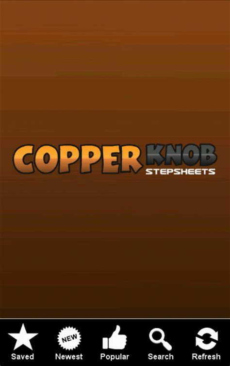 Copper Knob Line by Copper Line Step Sheets