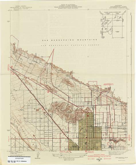 topo map of california california topographic maps perry casta 241 eda map