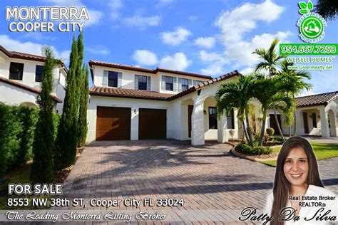 home in monterra a gated community in cooper city for sale