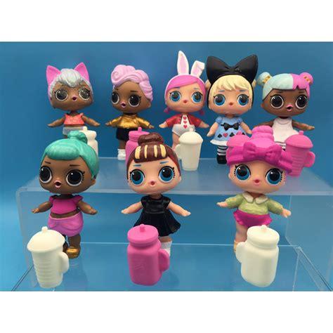aliexpress toys with function 6pcs 8pcs set lol dolls pvc action figure