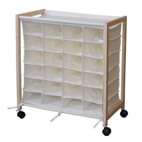 Cube Closet Organizer by 24 Pair Shoe Organizer Storage Chest Cart
