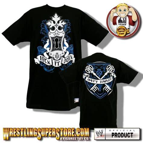 Tna Authentic Tshirt Creatures authentic matt hardy quot lock it quot size t shirt