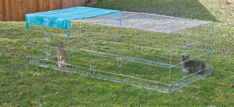 gabbie esterne per conigli recinto antifuga tuttogiardino accessori articoli da