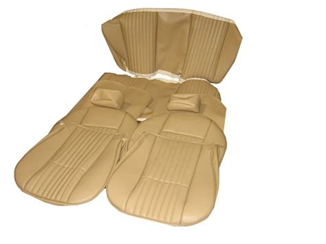fiat spider leather seat covers autoberry fiat 124 spider leather or vinyl seat