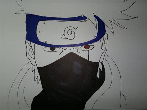 drawing kakashi hatake 息子カカシを描画する方法