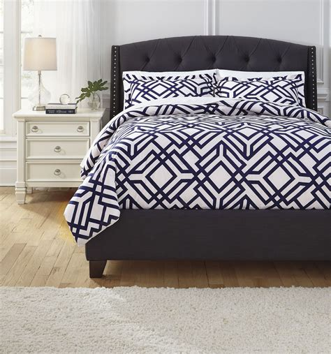navy comforter queen imelda navy queen comforter set from ashley q709003q
