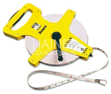 Cool Glassware tape measure 50m open reel metric imperial primary