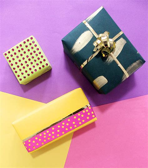 Small Gifts 3 Ways To Gift Wrap Small Gifts The Craftables