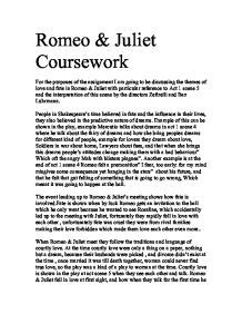 themes of romeo and juliet act 1 scene 2 discussing the themes of love and fate in romeo juliet