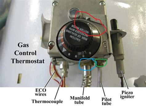 how to determine gas leak on a water heater home
