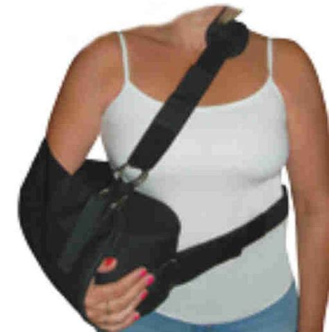shoulder immobilizer sling w abduction pillow ebay