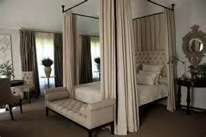 four poster bed drapes small bedroom decor simple small canopy on 2 swing arm