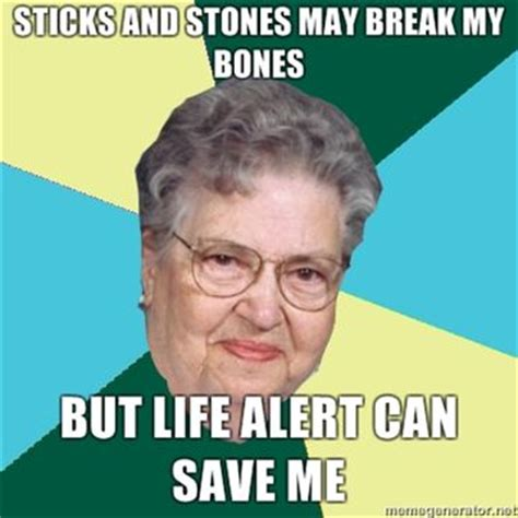 Old Lady Memes - 25 best ideas about life alert on pinterest life alert